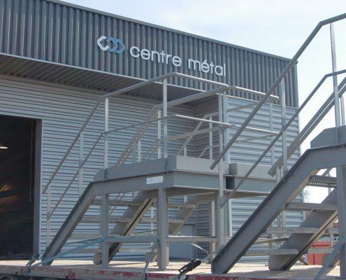 Centre Métal - Passerelle plateforme