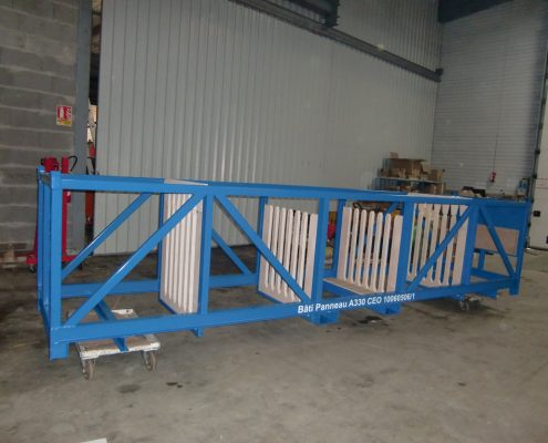 Rack de stockage pour ligne de production