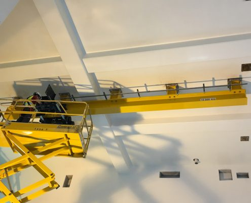 Montage d'un monorail