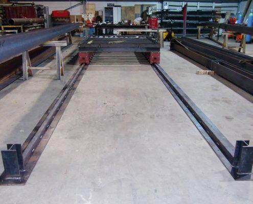 Rail pour chariot