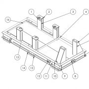 Plan de chassis support pompe