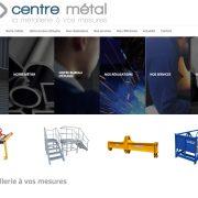 Nouveau site internet Centre Métal