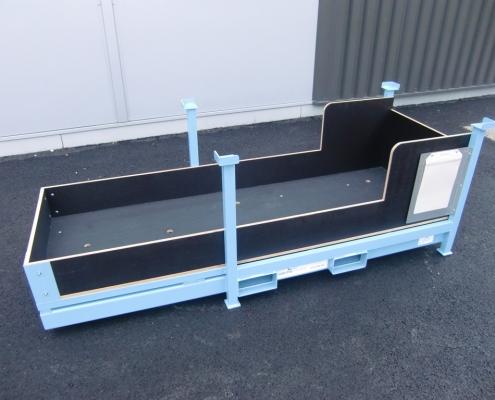 Plateau mixte transport stockage