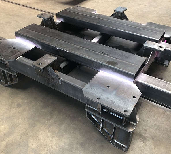 Chassis support domaine nucléaire