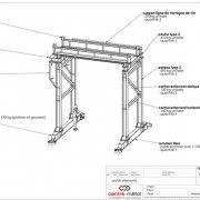 Plan de portique 30T